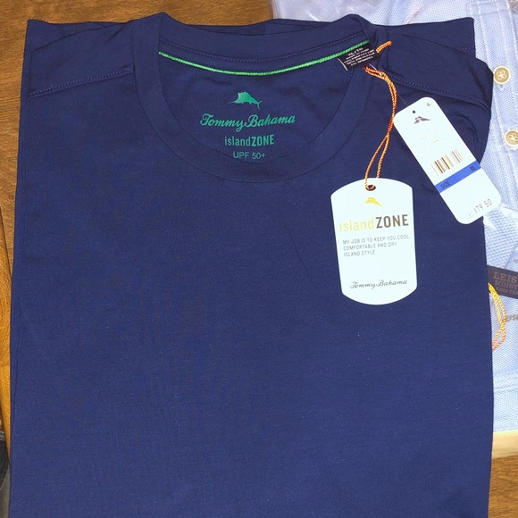 Tommy Bahama Other - Tommy Bahama Tropicool T-shirt XL. Bering Blue NWT